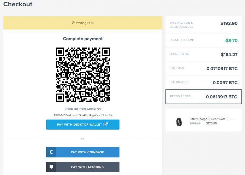 Produit de paiement Bitcoin Amazon