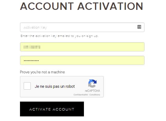 Activer son compte sur la plateforme Kraken