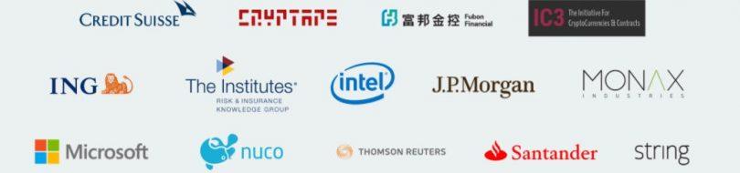 Entreprises partenaires Ethereum