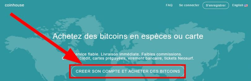 Inscription sur Coinhouse