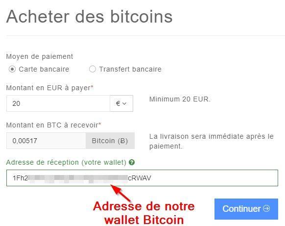 Achat crypto-monnaie Coinhouse