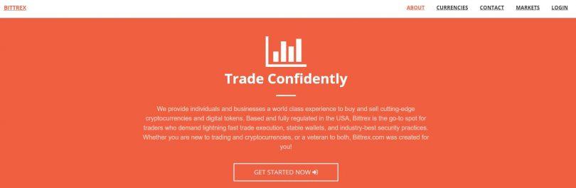 Inscription sur la plateforme trading de crypto-monnaies Bittrex