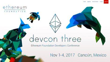 La devcon3 de la fondation Ethereum