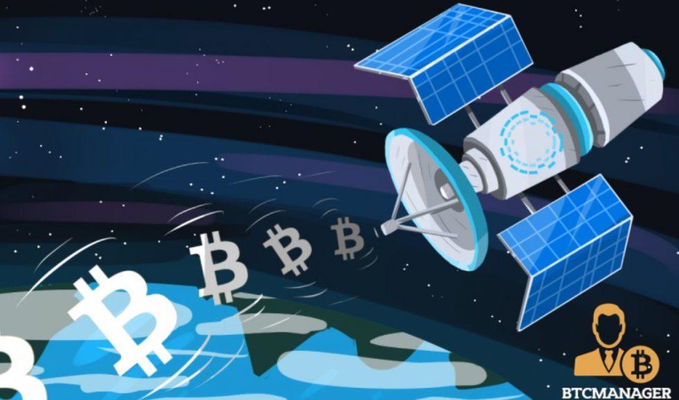 Envoi de Biutcoin par satellite avec Blockstream