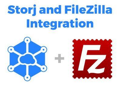 Un partenariat entre Storj et FileZilla