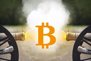 Bitcoin guerre Segwit2X had fork