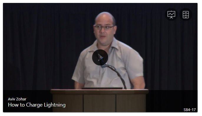 Aviv Zohar Lightning Network Bitcoin