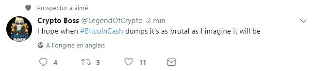 Bitcoin Cash Crypto Boss Twitter