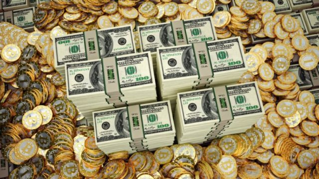 Bitcoin et monnaies fiduciaires