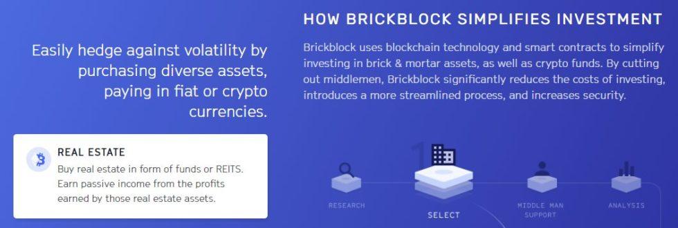 Les investissements immobiliers avec BrickBlock