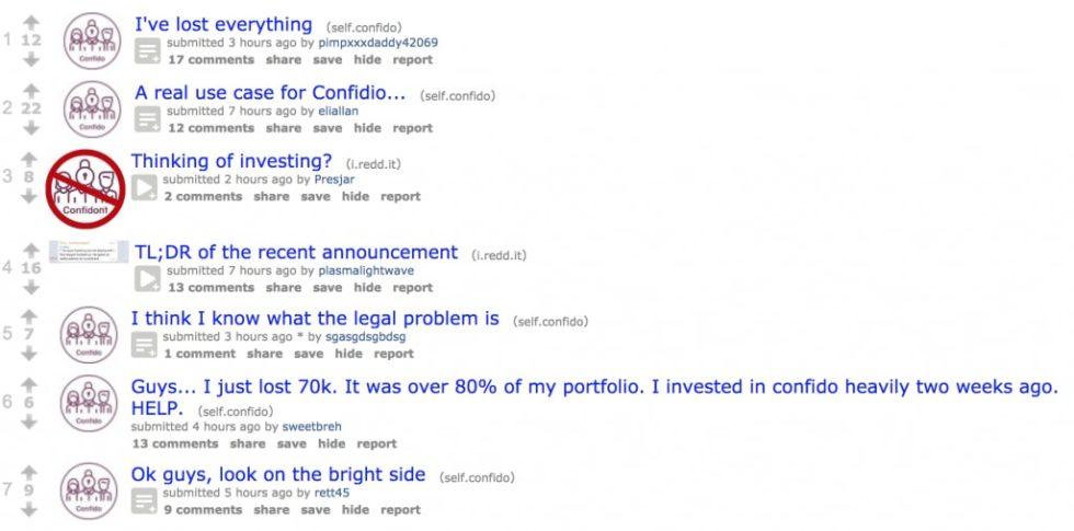 confido sur reddit
