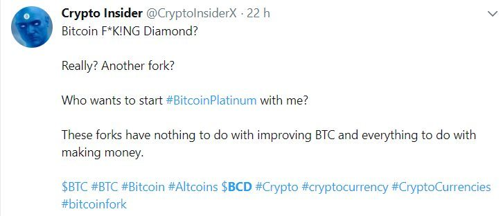 Crypto Insider évoque le Bitcoin Diamond