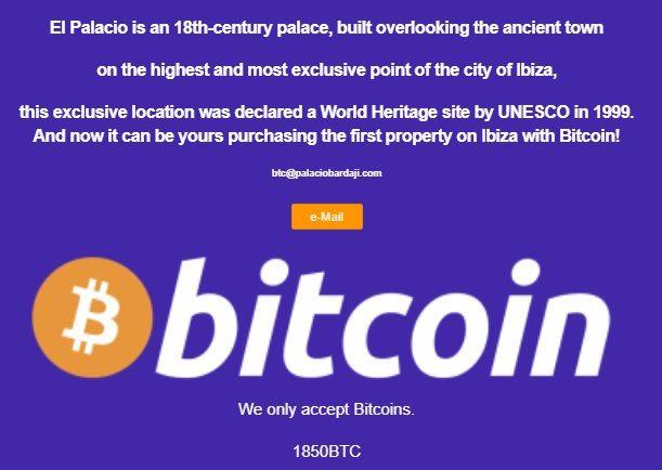El palacio Bitcoin