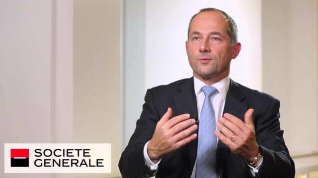 Frederic Oudea de la Société Générale
