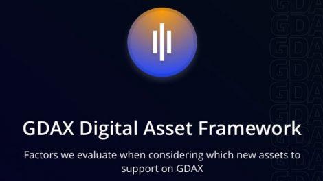 Le Digital Asset Framework de GDAX