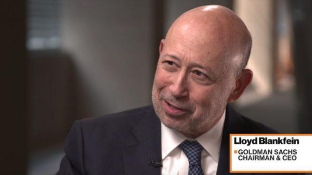 Lloyd Blankfein, PDG de Golman Sachs, donne son avis sur le Bitcoin