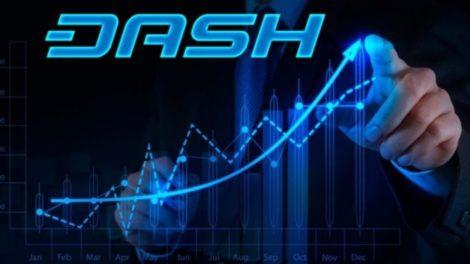 Hausse du prix de Dash