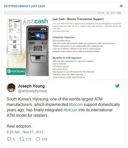 Just Cash sur Twitter