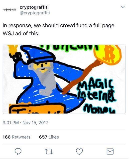 Magicien Bitcoin Twitter