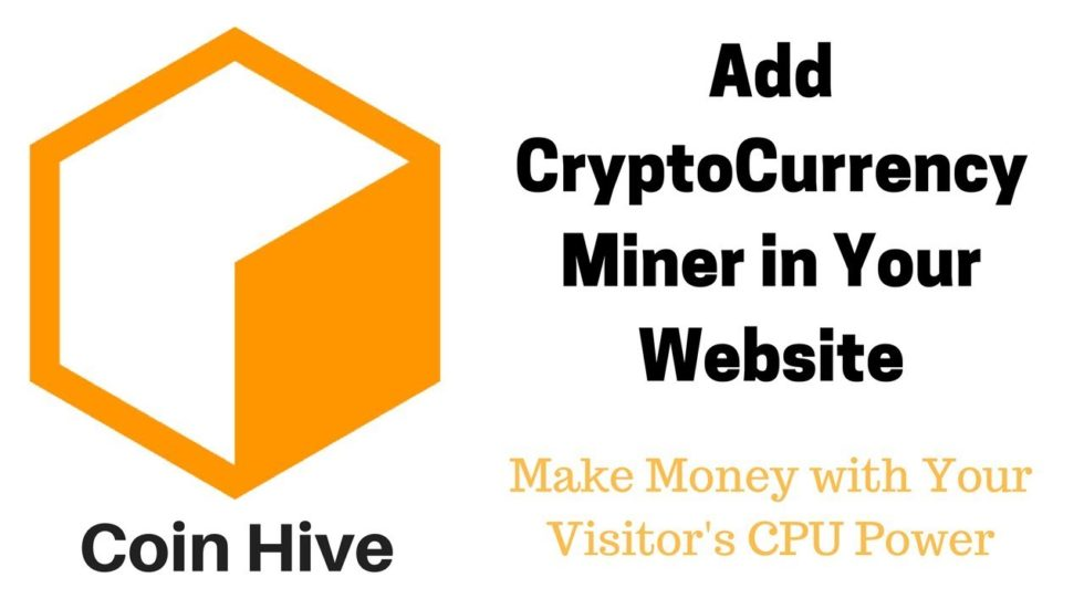 Malware CoinHive
