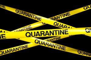 Mise en quarantaine