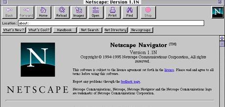 Netscape Navigator 1994