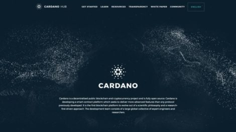 Site officiel Cardano
