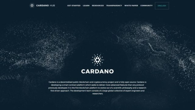 Site officiel Cardano