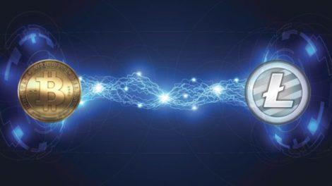 Transaction Bitcoin et Litecoin