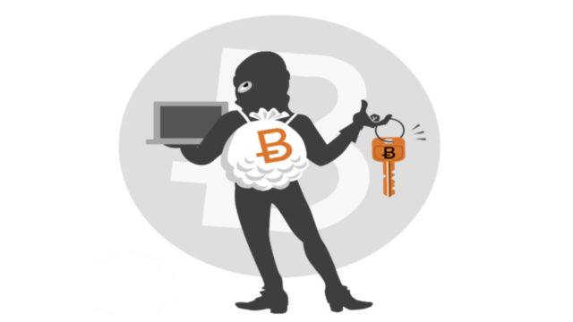 Vol de Bitcoins