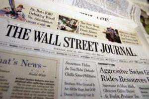Wall Street Journal publicité