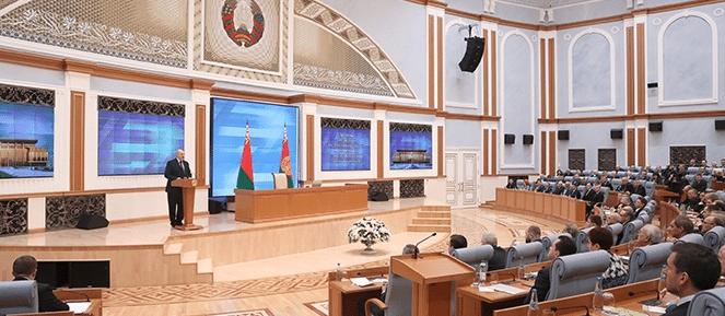 Annonce président Lukashenko