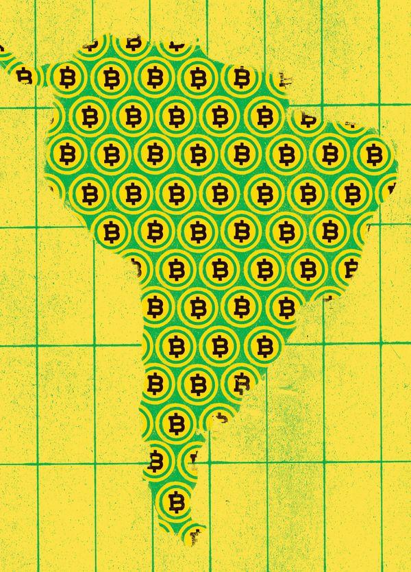 Bitcoin en Amérique du Sud