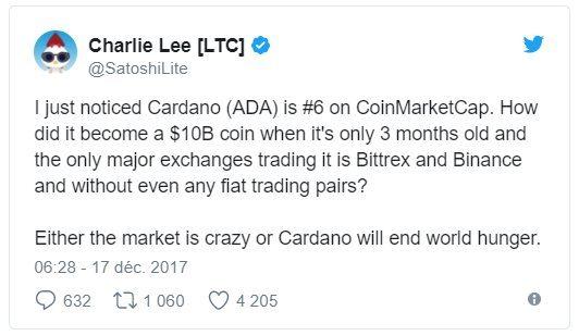 Charlie Lee Cardano