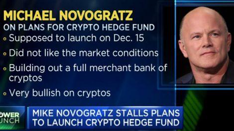 Mike Novogratz baisse Bitcoin