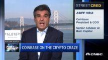 Président Coinbase CNBC