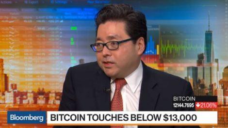 Tom Lee prix bitcoin