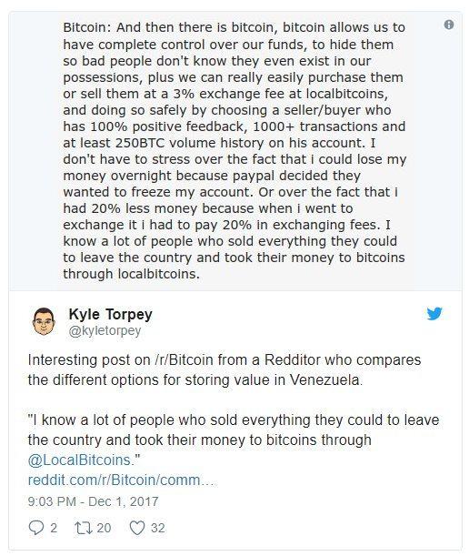 Kyle Torpey - Bitcoin et Venezuela