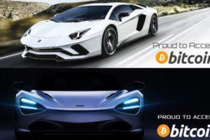 Voiture luxe Bitcoin