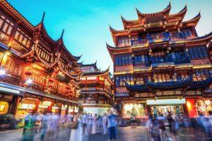 La Chine, en Asie