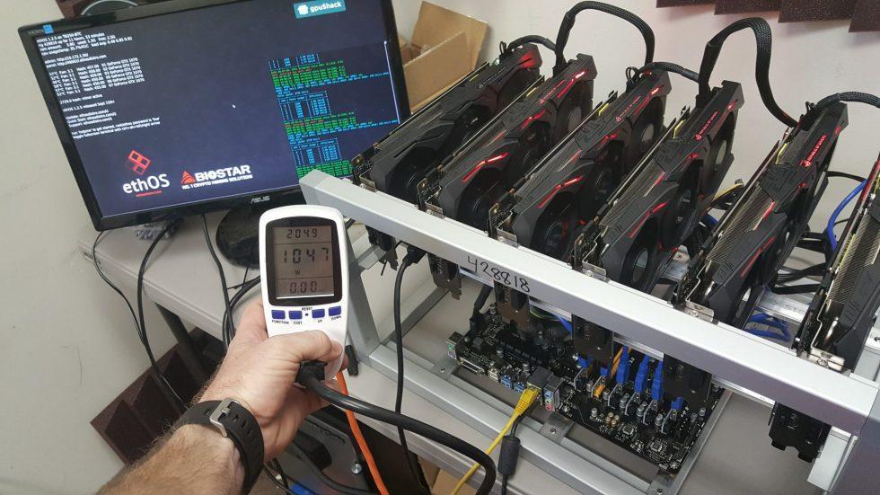 GPU : minage de crypto-monnaies