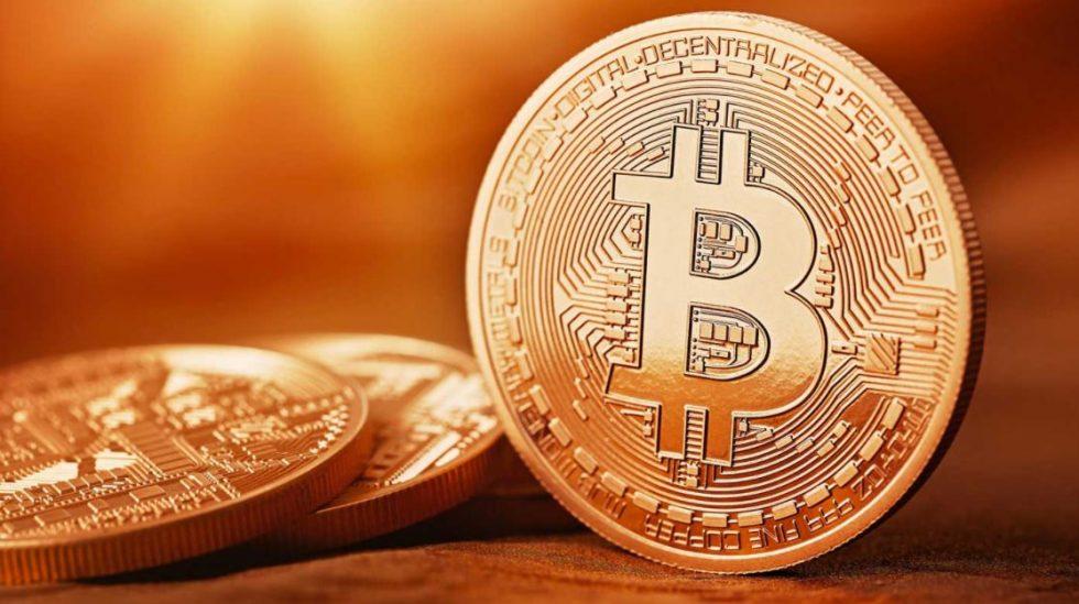 Une pièce Bitcoin