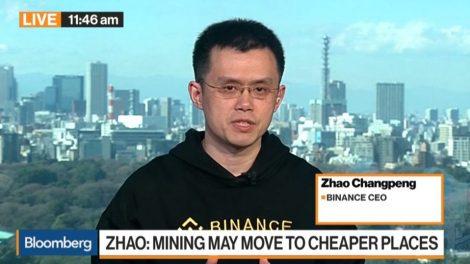 Zhao Changpeng Bloomberg