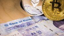 Bitcoin et Ethereum en Corée du Sud