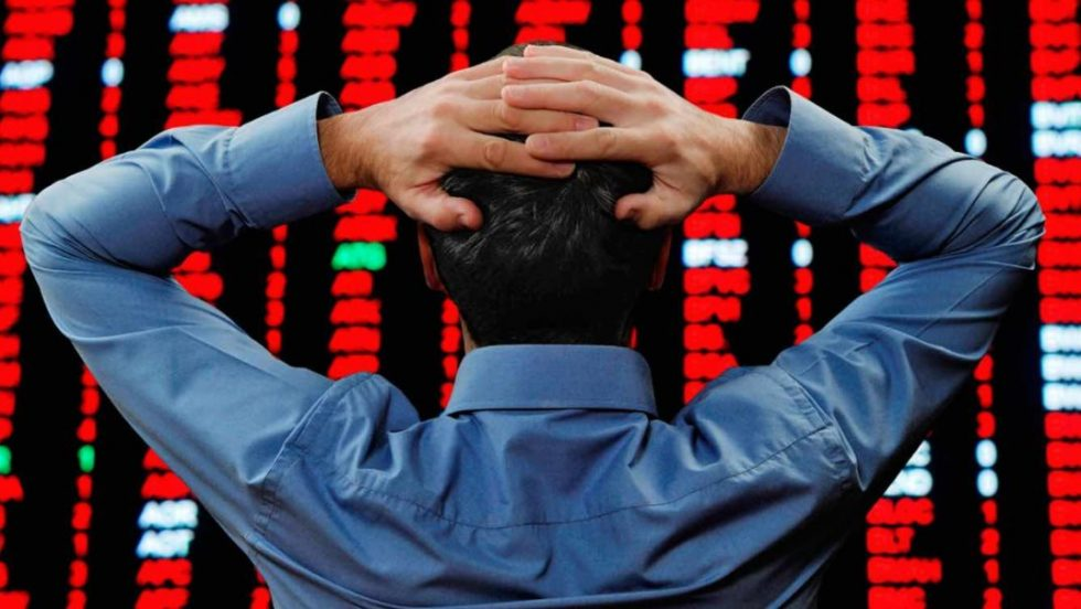 Chute des marchés