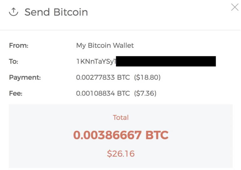Paiement en Bitcoin sur le Darknet