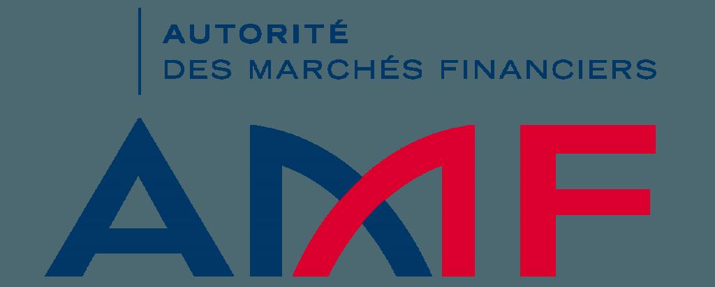 Le logo de l'autorité des marchés financiers (AMF)