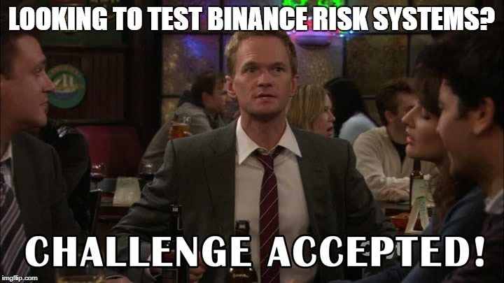 Binance challenge
