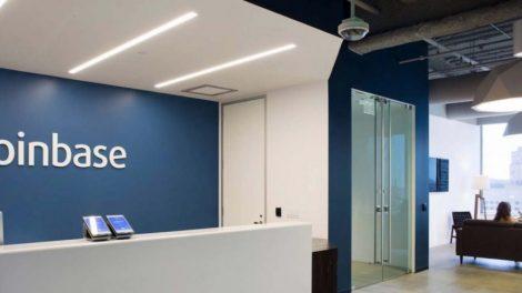 Les bureaux de Coinbase