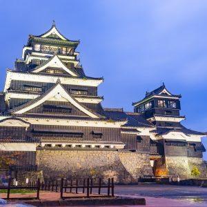 Le château de Kumamoto
